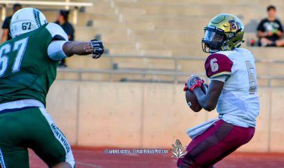 District 1-6A showdown between the El Dorado Aztecs vs Montwood Rams